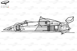 Brabham BT52B 1983 schematic overview