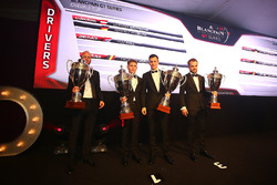 2016 Drivers, Dominik Baumann, Maximilian Buhk, champions, Rob Bell, 2nd place, Laurens Vanthoor, 3rd place