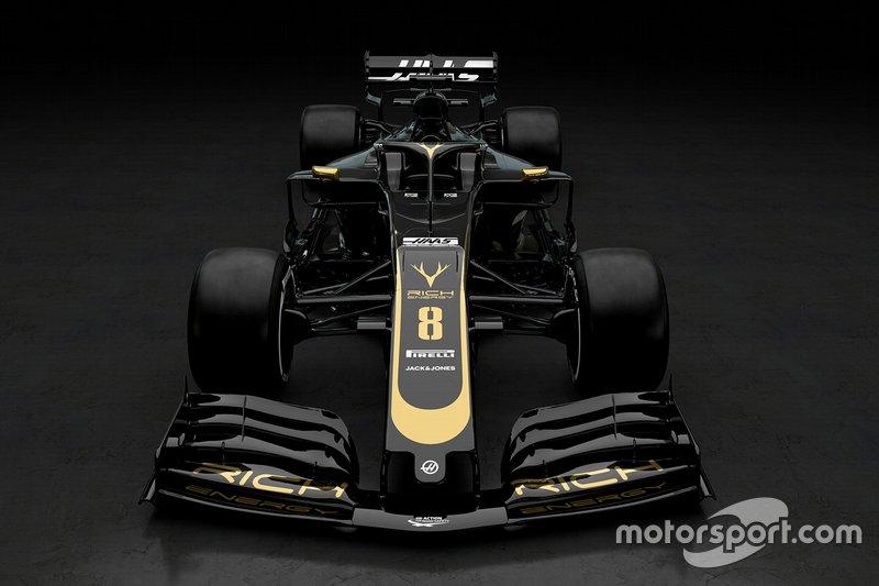 F1 - Changement de look pour Haas !