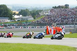 Alex Barros, West Honda Pons leads