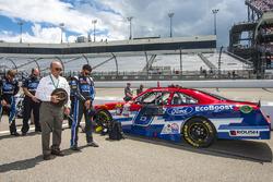 Jack Roush, Darrell Wallace Jr., Roush Fenway Racing Ford