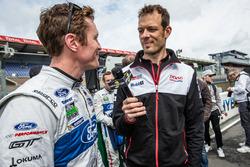 #69 Ford Chip Ganassi Racing Ford GT: Scott Dixon interviewed by Alexander Wurz for Motorsport.com