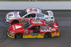 Jeff Gordon, Hendrick Motorsports Chevrolet, Tony Stewart, Stewart-Haas Racing
