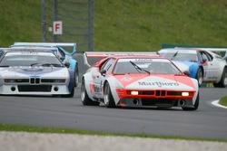 BMW M1 Procar legend race with Gerhard Berger and Niki Lauda