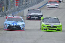 Drew Herring, Joe Gibbs Racing Toyota, Ryan Blaney, Team Penske Ford