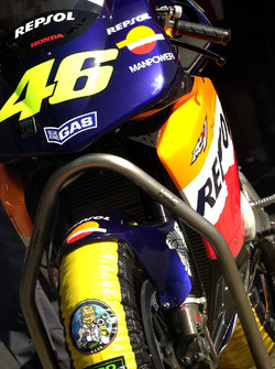 Valentino Rossi, Honda Team bike detail