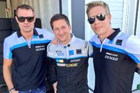 WTCC Foto - Fredrik Ekblom, Robert Dahlgren e Thed Bjork, Volvo S60 Polestar TC1 test car