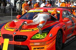 GT300 winners #55 Autobacs Racing Team Aguri BMW M6 GT3: Shinichi Takagi, Takashi Kobayashi