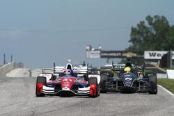Jack Hawksworth, A.J. Foyt Enterprises Honda, Spencer Pigot, Ed Carpenter Racing Chevrolet