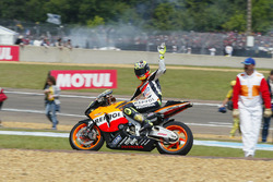 Second place Valentino Rossi, Repsol Honda Team