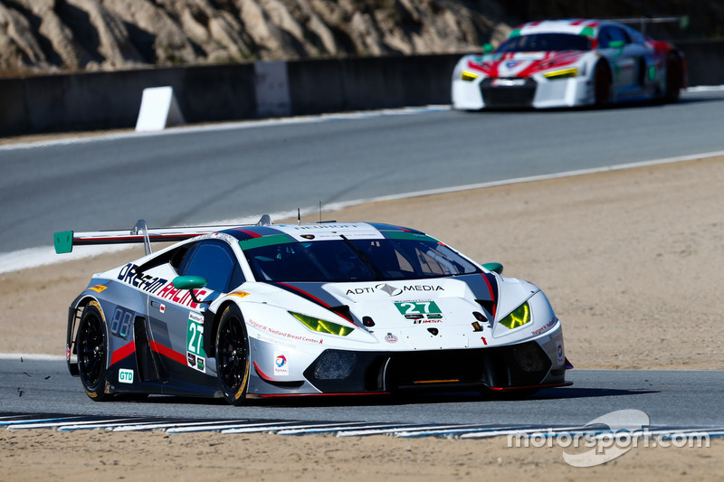 27 dream racing lamborghini huracan gt3 lawrence degeorge cedric sbirrazzuoli at laguna seca. Black Bedroom Furniture Sets. Home Design Ideas