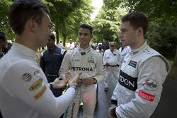 Pierre Gasly, Red Bull Racing, Pascal Wehrlein, Mercedes and Stoffel Vandoorne, McLaren