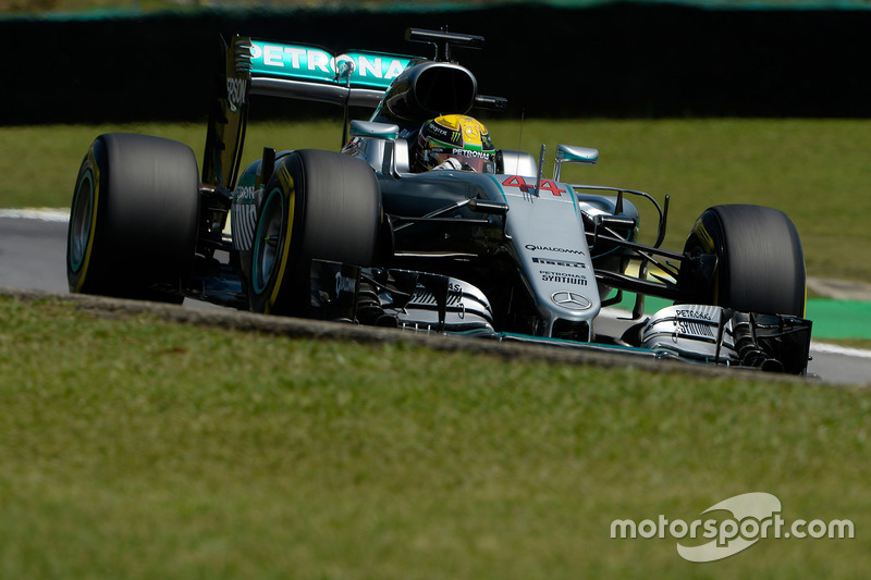 1: Lewis Hamilton, Mercedes AMG F1 W07 Hybrid