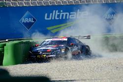 Crash Maximilian Götz, Mercedes-AMG Team HWA, Mercedes-AMG C63 DTM