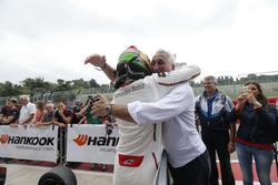 Lance Stroll (CAN) Prema Powerteam Dallara F312 – Mercedes-Benz with his father