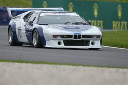 BMW M1 Procar legend race with Gerhard Berger