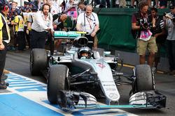 Race winner Nico Rosberg, Mercedes AMG F1 in parc ferme