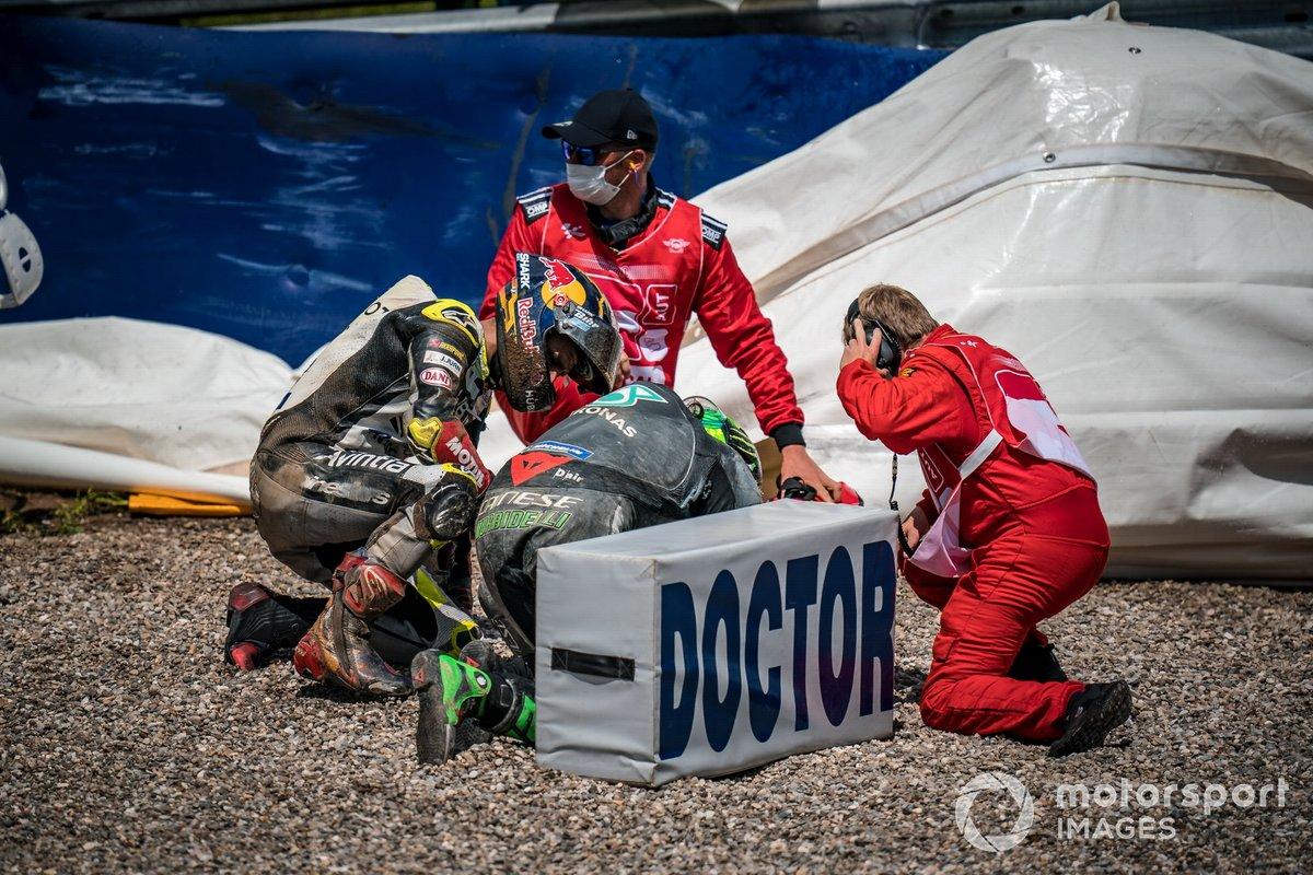 Moto GP : Johann Zarco manquera les premiers essais libres