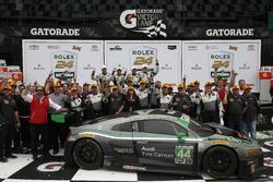 Winner GTD: #44 Magnus Racing Audi R8 LMS: John Potter, Andy Lally, Marco Seefried, René Rast