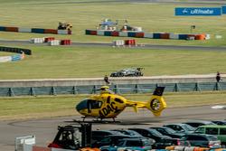 Bruno Spengler, BMW Team MTEK, BMW M4 DTM, helicopter