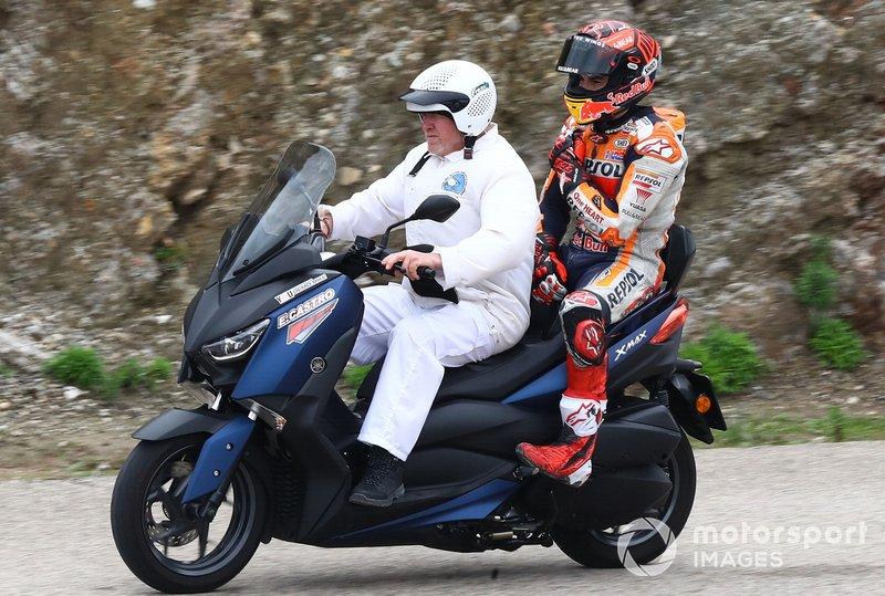 Marquez souffre d'une subluxation de l'épaule — MotoGP-Tests Jerez