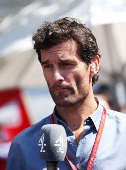 Mark Webber, Porsche Team WEC Driver and Channel 4 Presenter