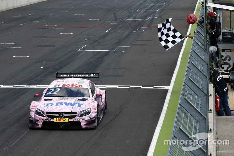 Lausitzring 2: Lucas Auer (Mücke-Mercedes)