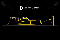 Renault F1 Team teaser for upcoming launch event
