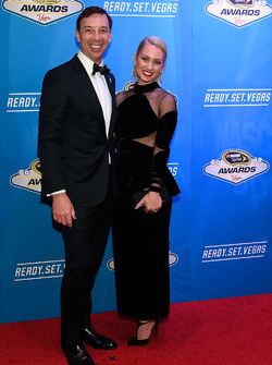 Crew Chief Chad Knaus and his wife Brooke Werner
