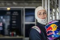 Lindsey Vonn Formula Renault 3.5 testing