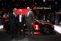 TCR Foto - Audi RS3 LMS. Stephan Winkelmann, Marcello Lotti e Chris Reinke