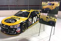 NASCAR Sprint Cup Photos - Throwback scheme for Chase Elliott, Hendrick Motorsports Chevrolet