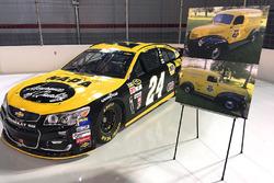 Throwback scheme for Chase Elliott, Hendrick Motorsports Chevrolet