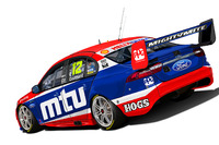 V8 Supercars Photos - DJR Team Penske livery for Fabian Coulthard