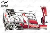 Formula 1 Photos - Ferrari SF16H front wing, Sochi