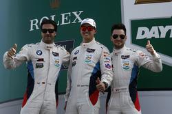 #100 BMW Team RLL BMW M6 GTLM: Lucas Luhr, Kuno Wittmer, Graham Rahal