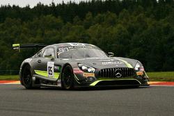 #85 HTP Motorsport, Mercedes-AMG GT3: Luciano Bacheta, Indy Dontje, Clemens Schmid