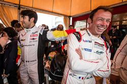 #50 Larbre Competition Chevrolet Corvette C7-R: Pierre Ragues and #91 Porsche Motorsport Porsche 911 RSR: Patrick Pilet