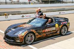 Sam Schmidt and the ARROW Chevrolet Corvette