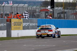 Rob Collard, West Surrey Racing takes the checkered flag