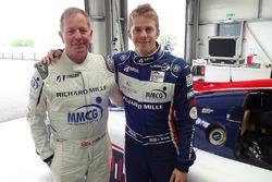 Martin Brundle and Alex Brundle