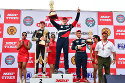 Winner Nikita Troitskiy, second place Harrison Newey, third place Nerses Isaakyan