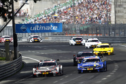 António Félix da Costa, BMW Team Schnitzer, BMW M4 DTM; Gary Paffett, Mercedes-AMG Team ART, Mercedes-AMG C63 DTM