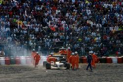 Nigek Mansell, Williams in the gravel