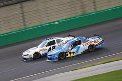 Brennan Poole, Chip Ganassi Racing Chevrolet, Justin Allgaier, JR Motorsports Chevrolet