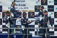 Lamborghini Super Trofeo Photos - Podium celebration