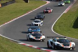 #59 Garage 59 McLaren 650S GT3: Craig Dolby, Martin Plowman