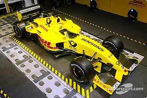 Formula 1 Jordan EJ12 launched in Brussels