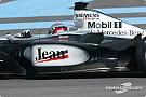 Jean Alesi McLaren test report