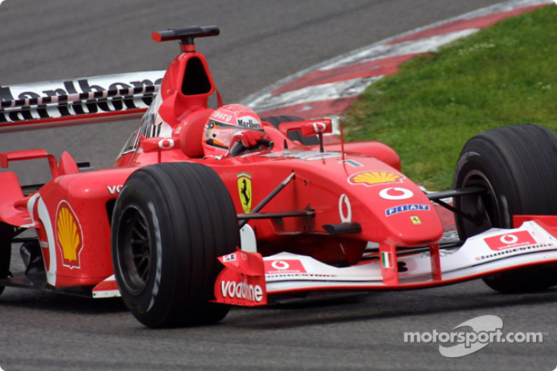Schumacher's perfect race
